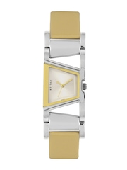 Titan Women Silver Dial Watch
