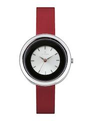 Titan Women Silver Toned Dial Watch