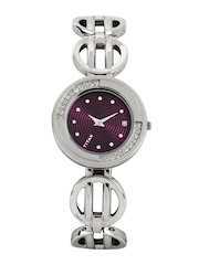 Titan Women Purple Dial Watch NE2502SM02