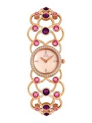 Titan Raga Women Garden of Eden Pearly Pink Dial Watch 95006WM01J