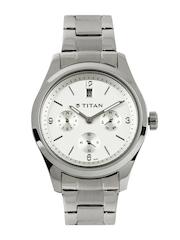 Titan Women White Dial Watch