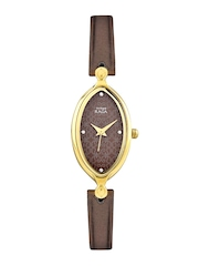 Titan Women Brown Dial Watch NF2499YL01