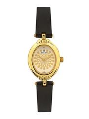 Titan Women White Dial Watch 2538YL01