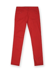 Tommy Hilfiger Girls Red Tally Skinny High Risk Jeans