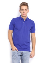 Men Blue New Tommy Polo T-shirt Tommy Hilfiger