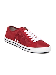 Tommy Hilfiger Men Red Casual Shoes