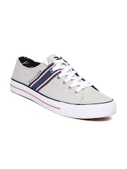 Tommy Hilfiger Men Light Grey Casual Shoes
