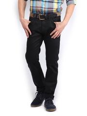 Tommy Hilfiger Men Black Slim Fit Jeans