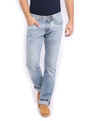 Tommy Hilfiger Men Blue Hudson Straight Fit Jeans