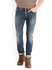 Tommy Hilfiger Men Blue Sage Skinny Fit Jeans