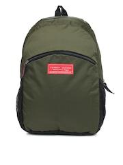 Tommy Hilfiger Men Olive Green Backpack