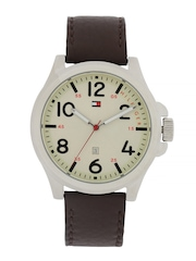 Tommy Hilfiger Men Silver-Toned Dial Watch TH1790990J