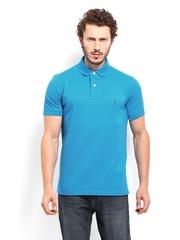 Tommy Hilfiger Men Blue Polo T-shirt