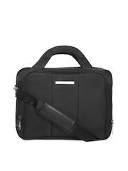 Tommy Hilfiger Unisex Black Messenger Bag