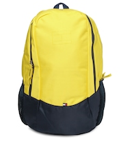 Tommy Hilfiger Unisex Yellow & Blue Backpack