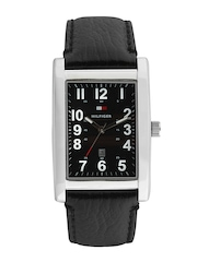 Tommy Hilfiger Men Black Dial Watch