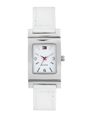 Tommy Hilfiger Women White Dial Watch