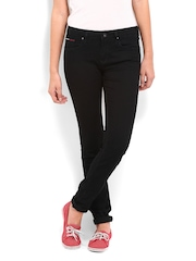 Tommy Hilfiger Women Black Nora Skinny Fit Jeans