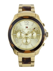 Tommy Hilfiger Women Gold-Toned Dial Watch TH1781394J