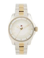 Tommy Hilfiger Women Silver Dial Watch