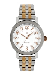 Tommy Hilfiger Women Silver Toned Dial Watch