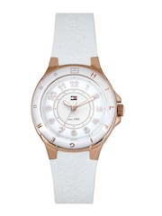 Tommy Hilfiger Women White Dial Watch TH1781275J