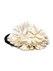 ToniQ Girls Black & Beige Hairband