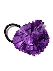 ToniQ Girls Black & Purple Hairband