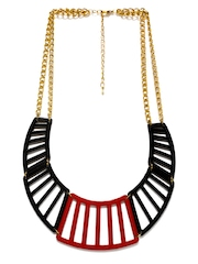 ToniQ Black & Red Necklace