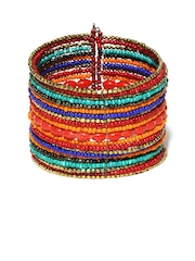 ToniQ Multi-Coloured Cuff Bracelet