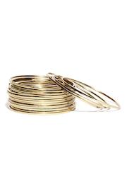 ToniQ Set of 18 Gold-Toned Bangles