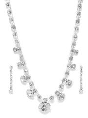 ToniQ Silver-Toned Jewellery Set