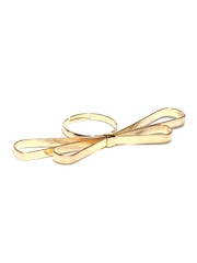 ToniQ Gold Toned Bow Ring