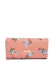 ToniQ Women Peach Toned Wallet