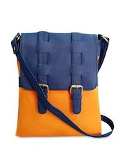 Toteteca Navy & Orange Sling Bag