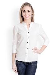 Trend Arrest Women White Shirt