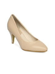 Tresmode Women Beige Pumps
