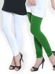 Tulsattva Women Pack of 2 Leggings