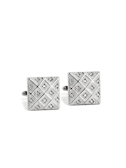 Turtle Silver Toned Cufflinks