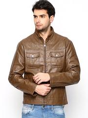 Turtle Men Brown Jacket
