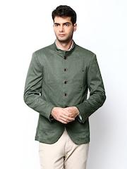 Turtle Men Green Blazer