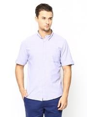 Turtle Men Purple Slim Fit Casual Shirt