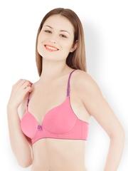 Tweens Pink Full Coverage T-shirt Bra TW1517PK36B