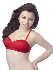 Tweens Red T-shirt Bra