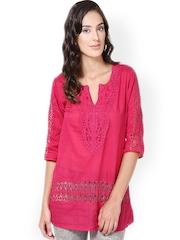 U&F Women Pink Tunic