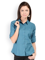 U&F Women Blue Shirt