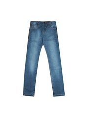 U.S. Polo Assn. Kids Boys Blue Slim Fit Jeans