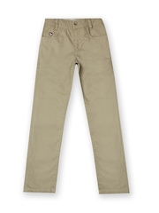 U.S. Polo Assn. Kids Unisex Slim Fit Khaki Trousers