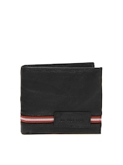 U.S. Polo Assn. Men Black Leather Wallet