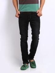 U.S. Polo Assn. Men Black Skinny Fit Jeans